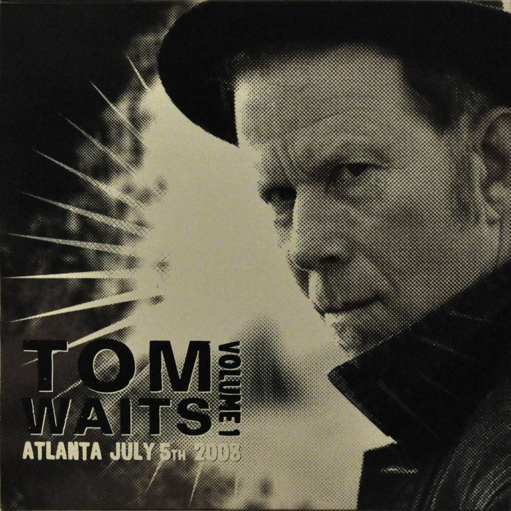 Tom Waits Atlanta July 5th 2008 Limited Edition 4 Lp