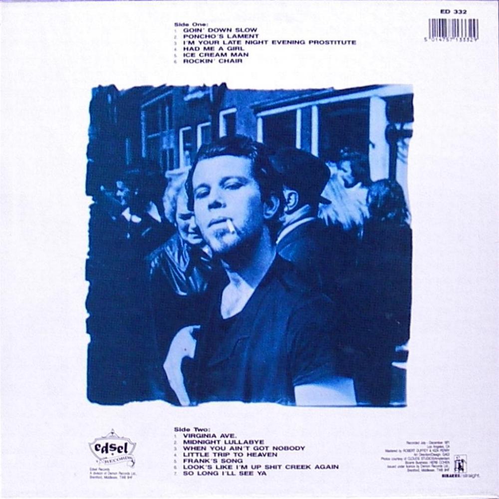 Tom Waits The Early Years Vinyl Bootleg