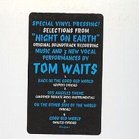 Tom Waits Night On Earth 12 4 Track Vinyl Promo